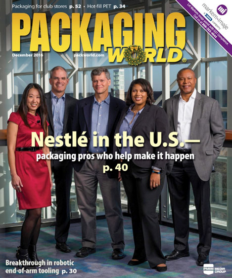 Packing World Magazine - Advanced Vapor Vacuum Capping Technology