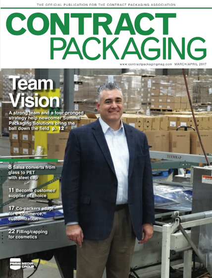 Contract Packaging Magazine - PET Closure Innovation