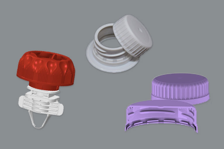 The innovative ELC Gable Top, Senseaze, and Secure Spout cap from Silgan Closures