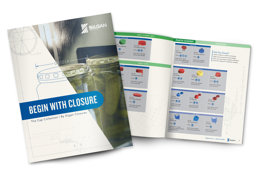 closure product catalog 2018 - silgan closures
